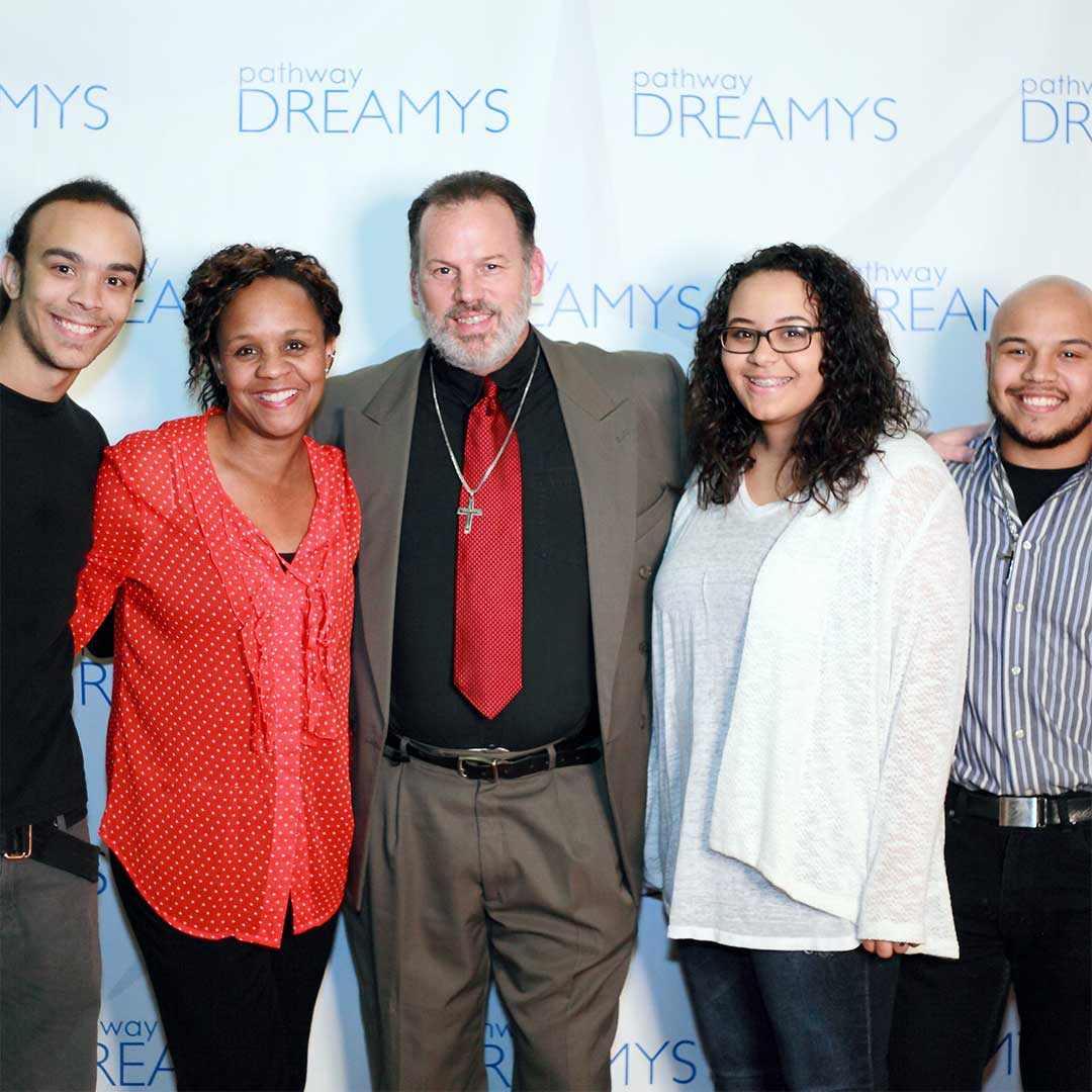 Family at Pathway Dreamy Awards
