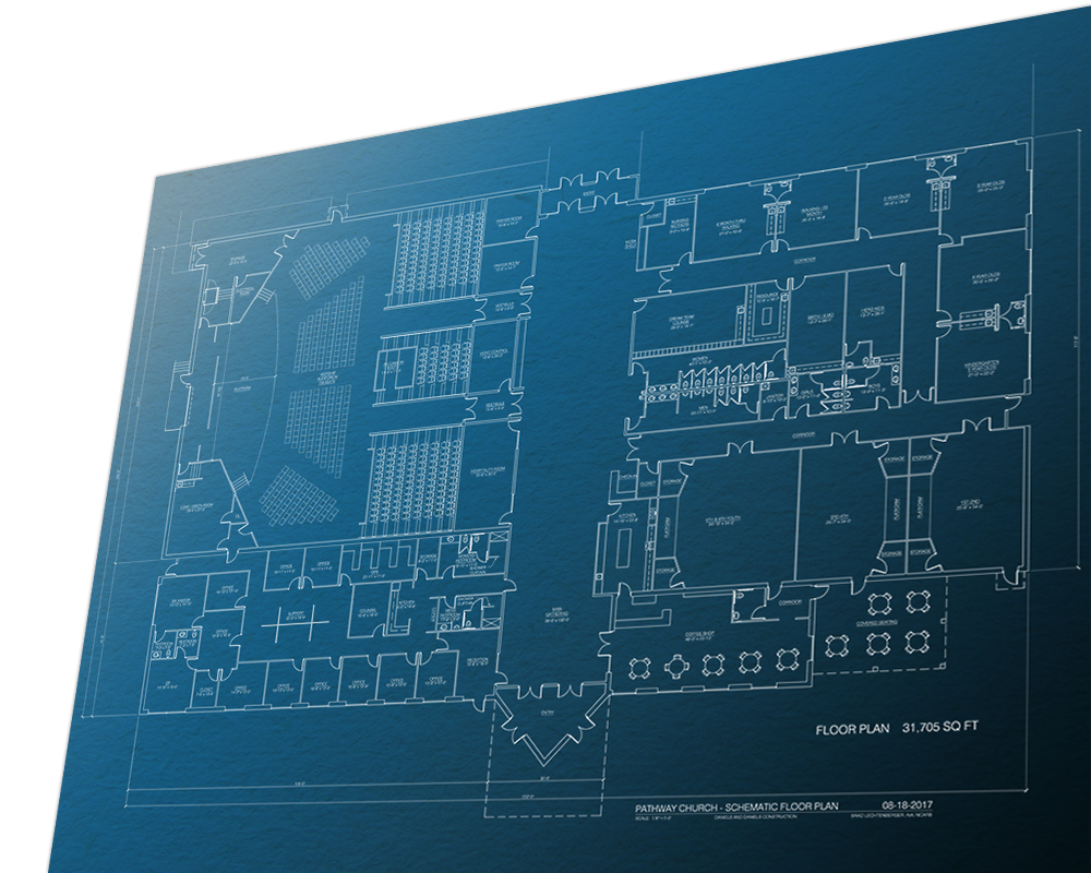 Blueprints of new building coming soon