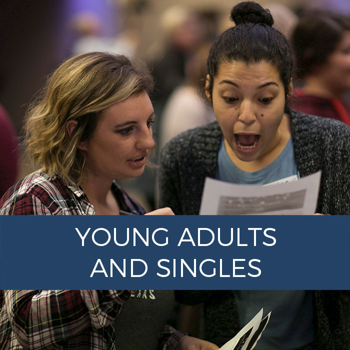 Link to Young Adults and Singles Lifegroup Hub