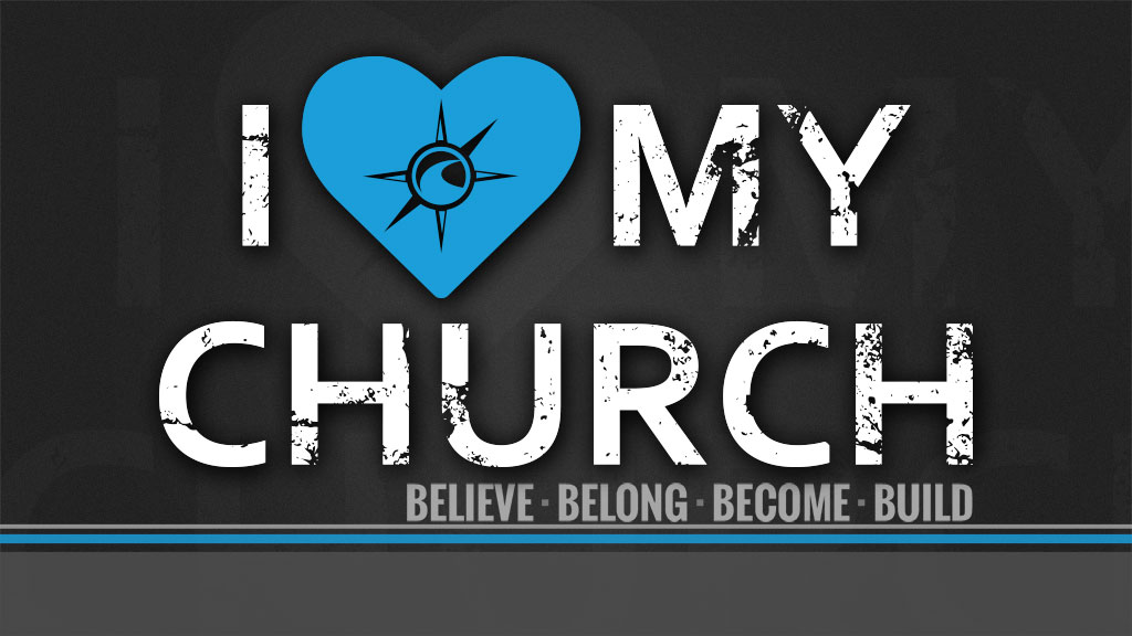Listen or Watch I ♥ MY CHURCH: SAVED PEOPLE SERVE PEOPLE