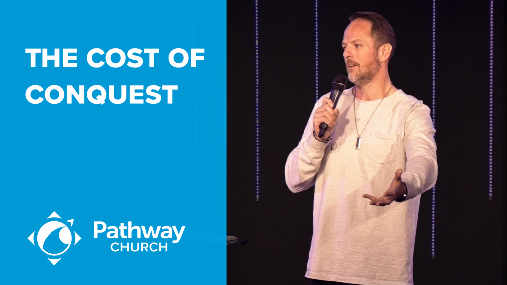 Listen or Watch THE COST OF CONQUEST