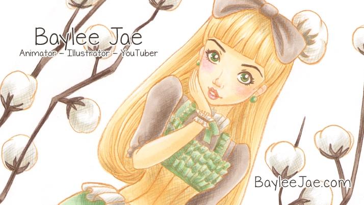 Support Baylee Jae creating Art Videos and Tutorials