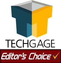 Tech Gage Editor's Choice award