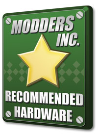 Modders Inc Recommended award
