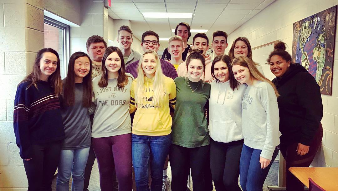 Meet the Charlevoix High School Junior Main Street committee members! Opens in new window