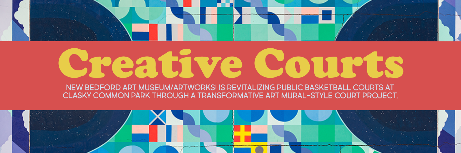 Creative Courts Mural Banner