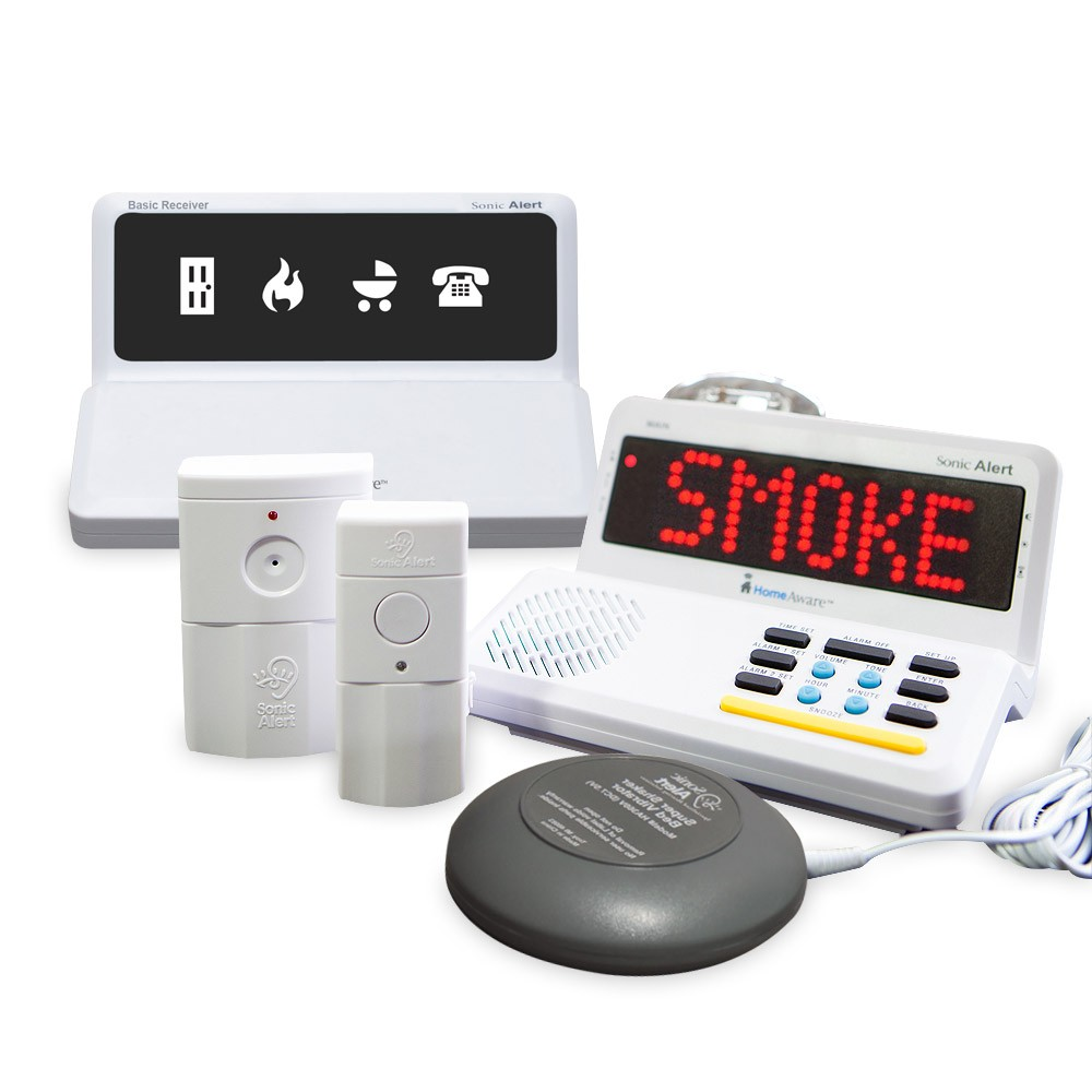 Sonic Alert HomeAware Fire Safety Value Package