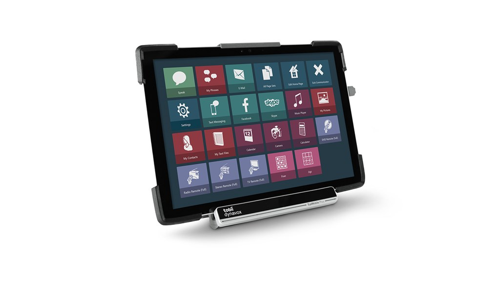 Tobii Dynavox Eyemobile Plus Featuring Communicator 5  Windows Control And Microsoft Surface Pro