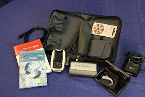 Microlink with Naida ultraPower hearing system (For severe to profound hearing loss)