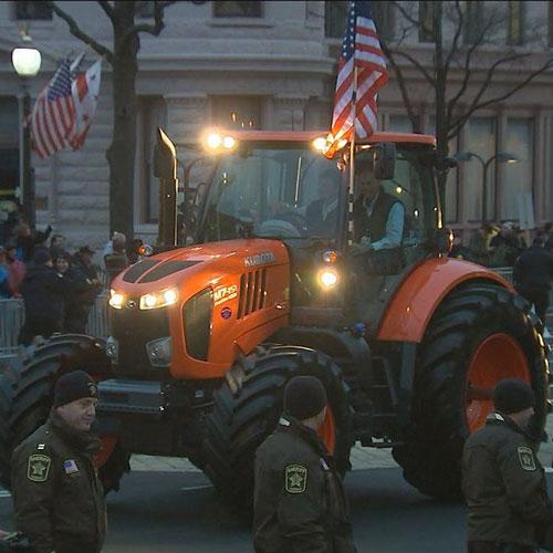 Kubota M7 Tractor
