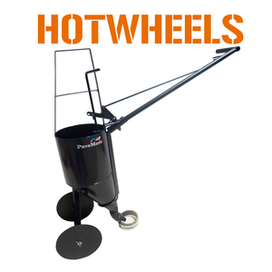 hot and cold crackfiller push cart