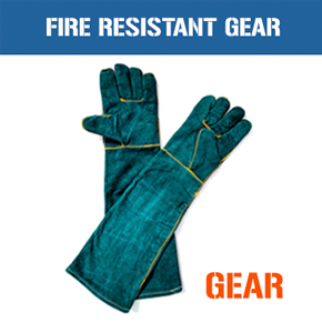 HEAT RESISTANT SAFETY GEAR