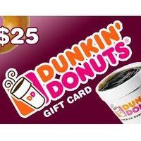 Dunkin' Donuts Card