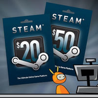 Steam Wallet  Gift Card