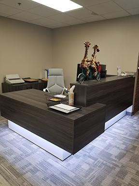 New Reception Desk Compelte