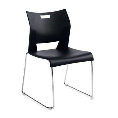 PAYGLB6621 Global Duet Stack Guest Chair Office Furniture Clearance Used Showroom