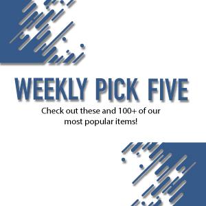 Weekly Pick 5 Sale
