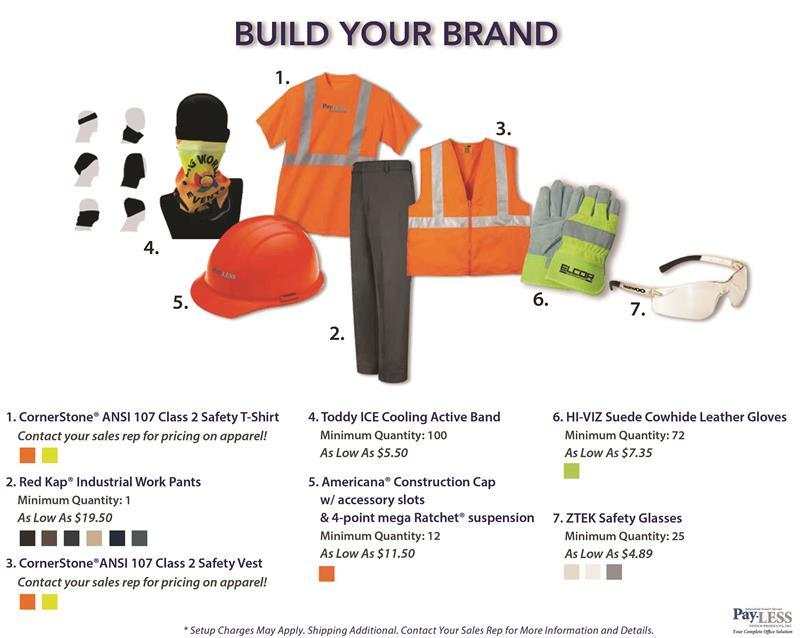 build your brand promotional and apparel