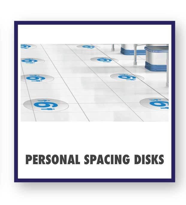 Personal Spacing Disks