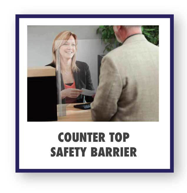 Countertop Safety Barrier