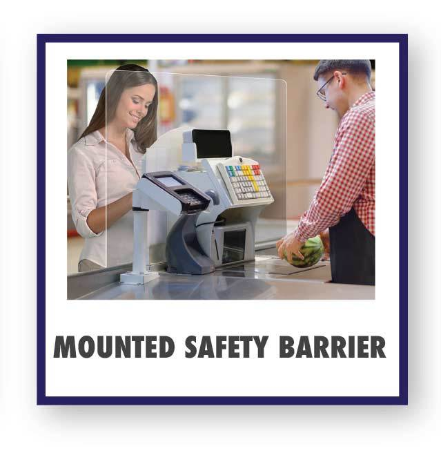 Mounted Safety Barrier