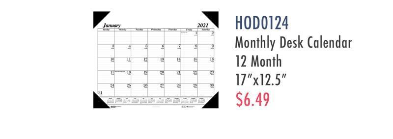 HOD124 House of Doolittle Economy Refillable Desk Pad