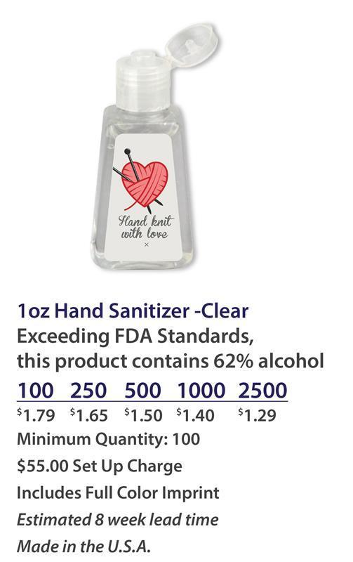 branded hand sanitizer