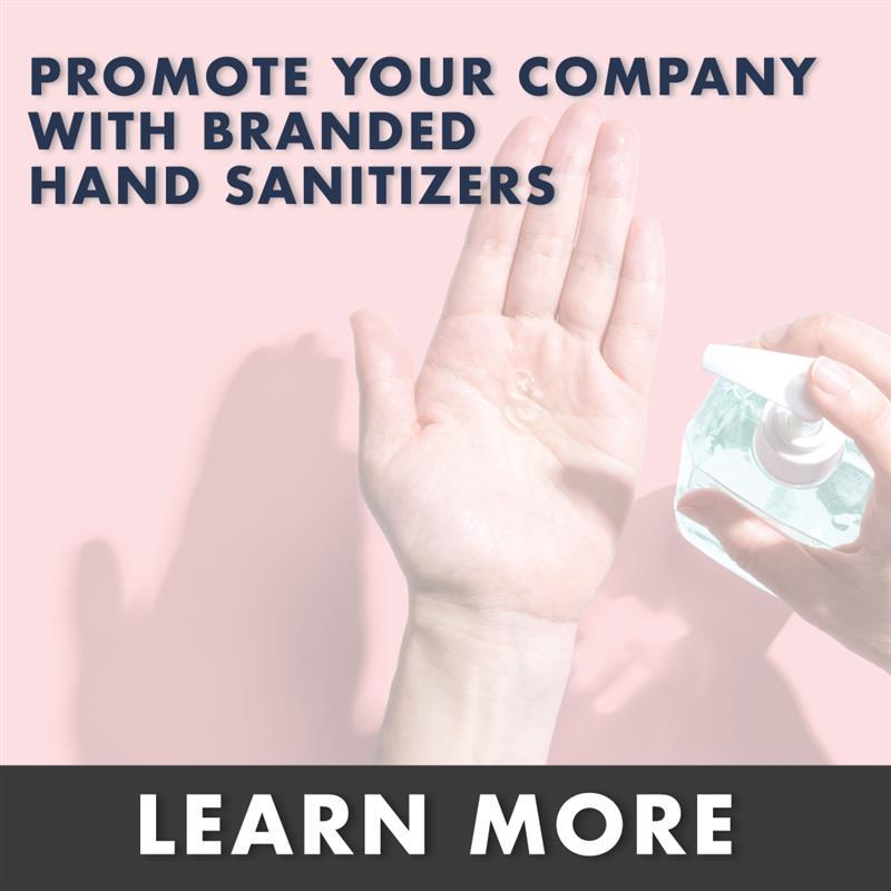 Branded Hand Sanitizers
