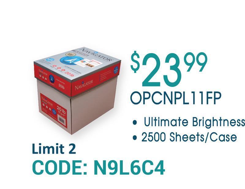 Copy Paper Sale OPCNPL11FP