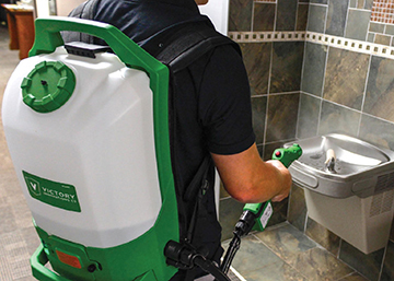 Backpack Electrostatic Sprayer