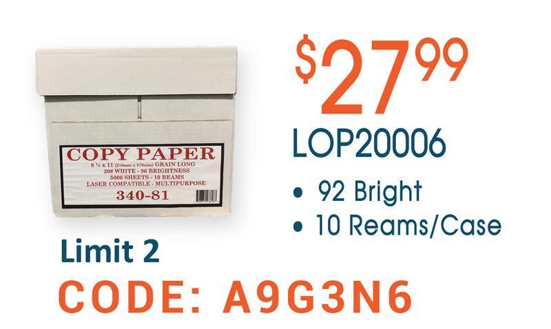 LOP20006 Copy Paper
