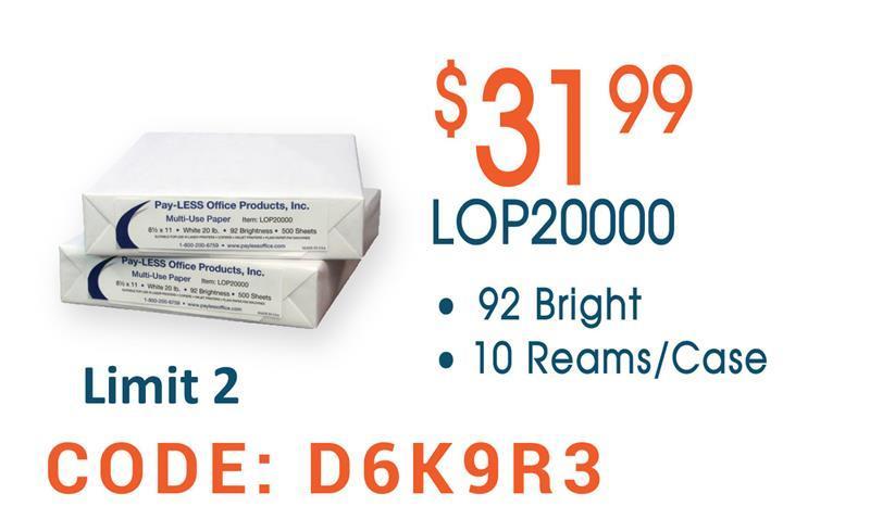 LOP20000 Copy Paper