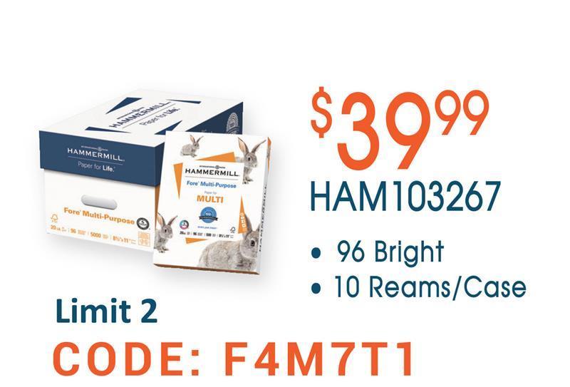 HAM103267 Copy Paper