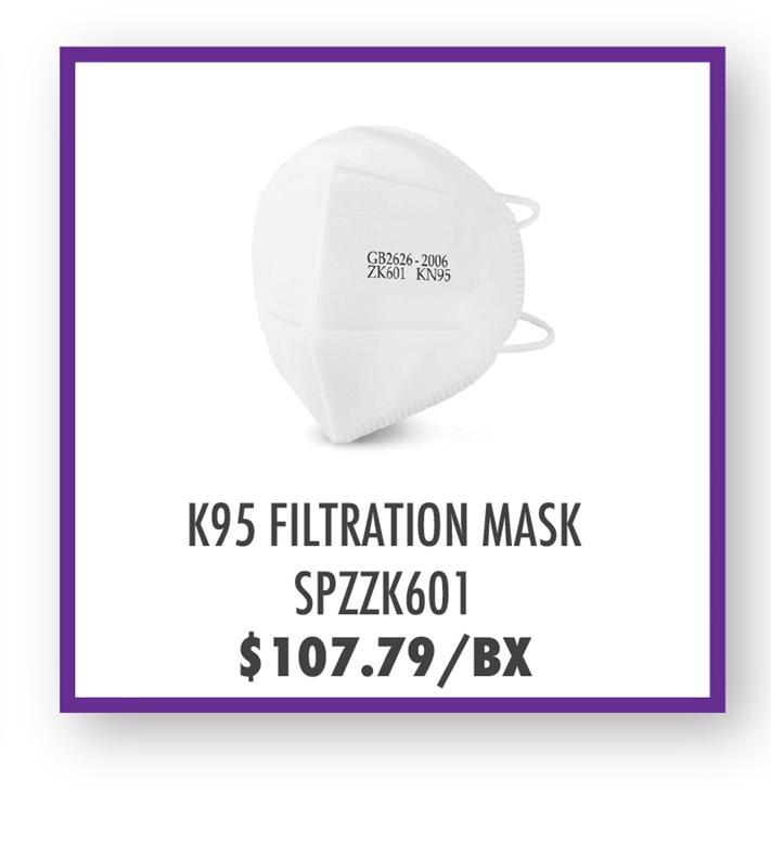 SPZZK601 Health ZK601 KN95 Flat Fold Disposable Respirator Mask
