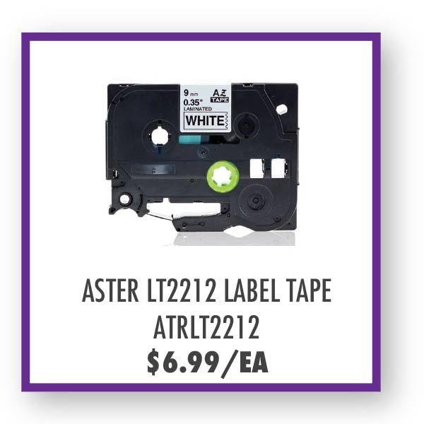 ATRLT2212 Label Tape Overstock Sale