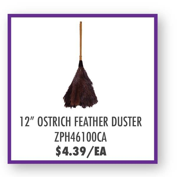 ZPH46100CA Ostrich Feather Duster Overstock Sale