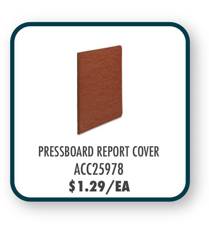 ACC25978 Acco Pressboard Side Binding Report Covers