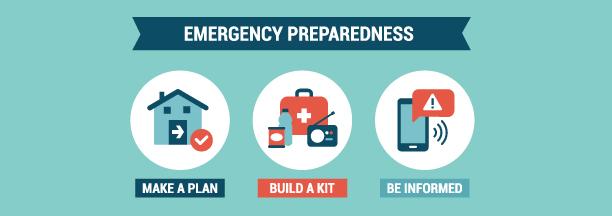 Emergency Preparedness Flyer Header