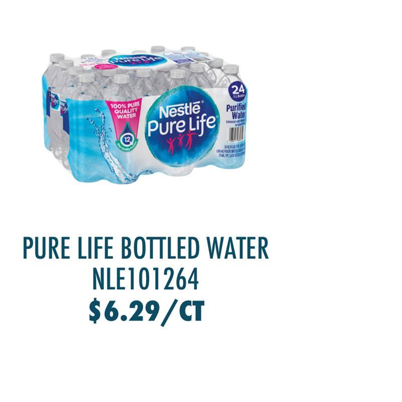 NLE101264 Nestle S.A Pure Life Purified Bottled Water
