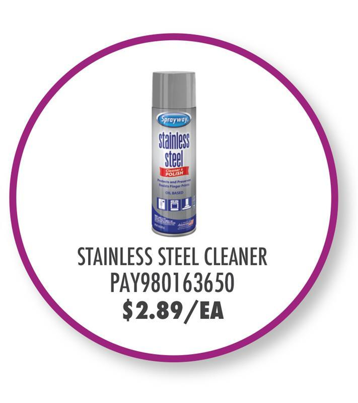 PAY980163650 Sprayway Stainless Steel Cleaner and Polisher