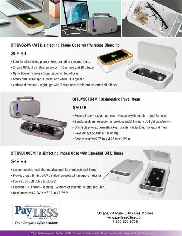 Kill up to 99% of bacteria and germs with these great ultraviolet cleaning products from OttLite.