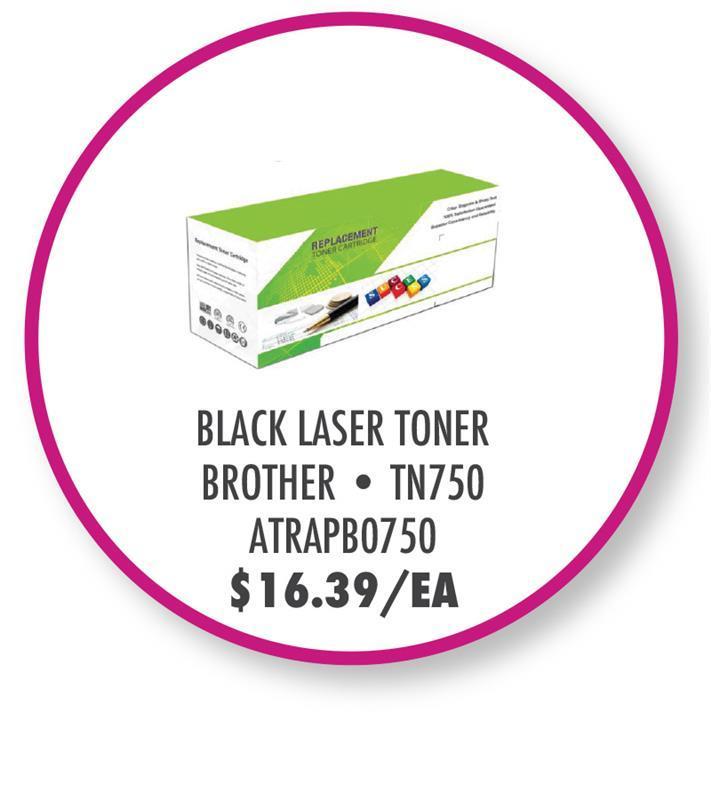 ATRAPB0750 Aster Graphics TONER,COMPAT,BLK,HL-5440D,8K