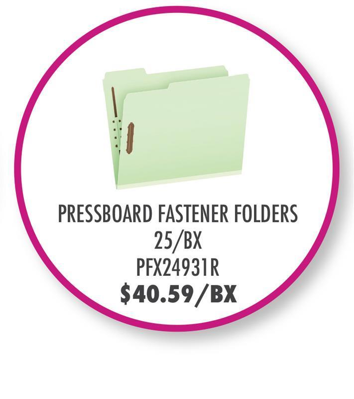 "PFX24931R Pendaflex® Recycled Pressboard Fastener Folders, Letter Size, Light Green, 1"" Expansion, 1/3 Cut, 25/BX"