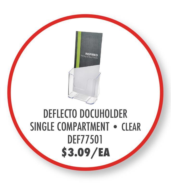 DEF77501 Deflecto Single Compartment DocuHolder