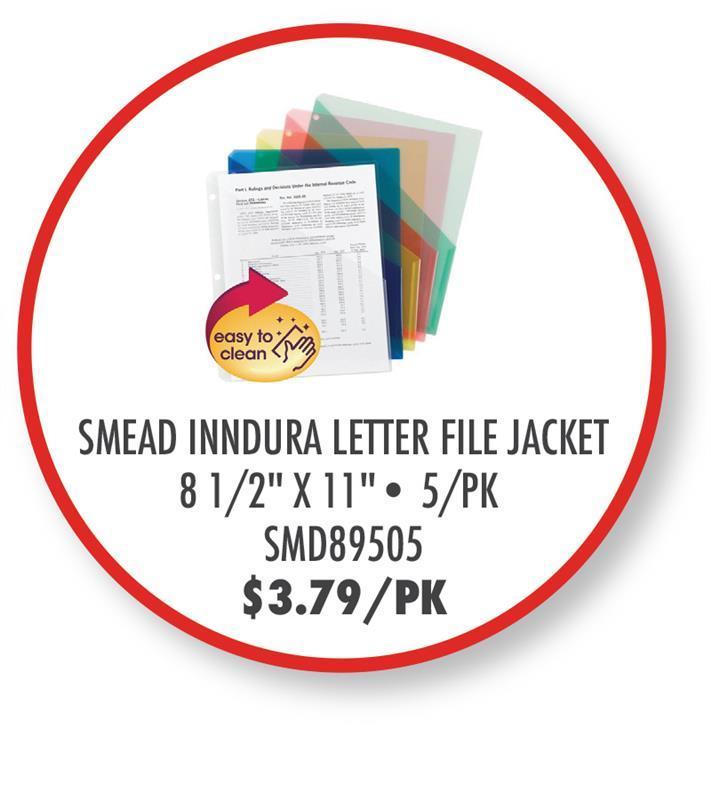 SMD89505 Smead InnDura Letter File Jacket