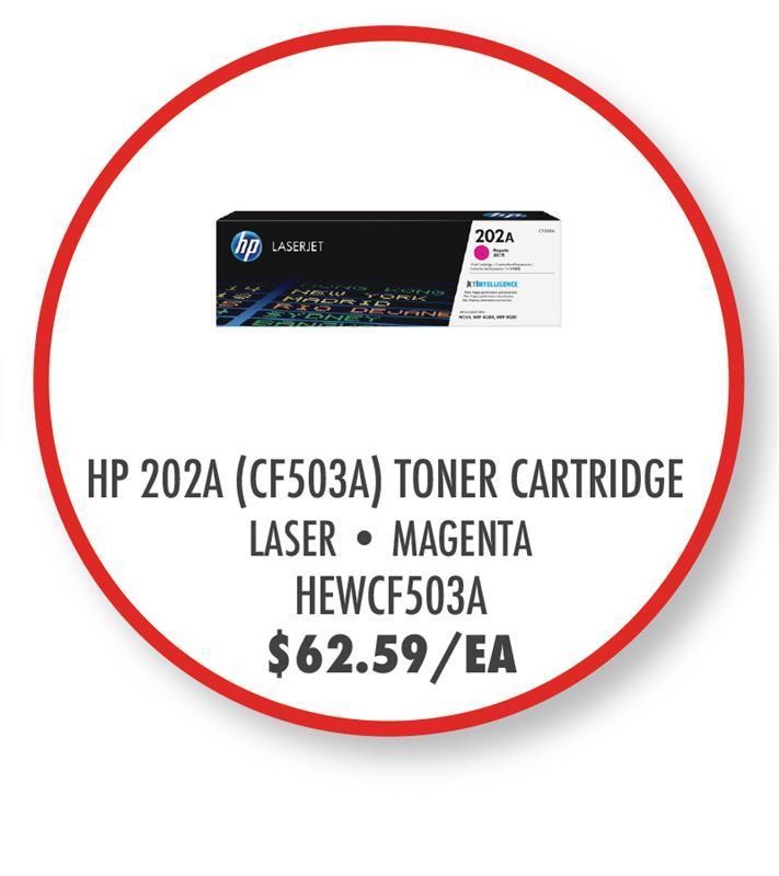 HEWCF503A HP 202A (CF503A) Toner Cartridge - Magenta