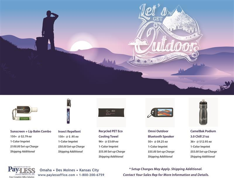 Let's Get Outdoors Flyer