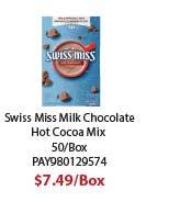 PAY980129574 Swiss Miss Milk Chocolate Flavor Hot Cocoa Mix