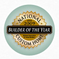 2009 Custom Home Builder of the Year