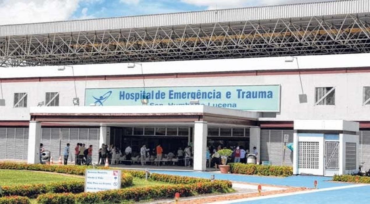 Resultado de imagem para hospital de trauma de joão pessoa